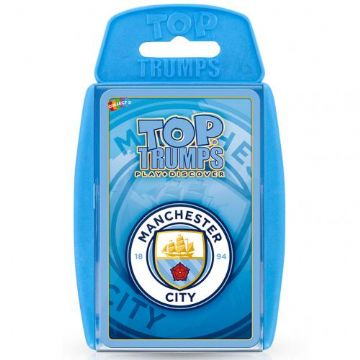 Manchester City Top Trumps Cards